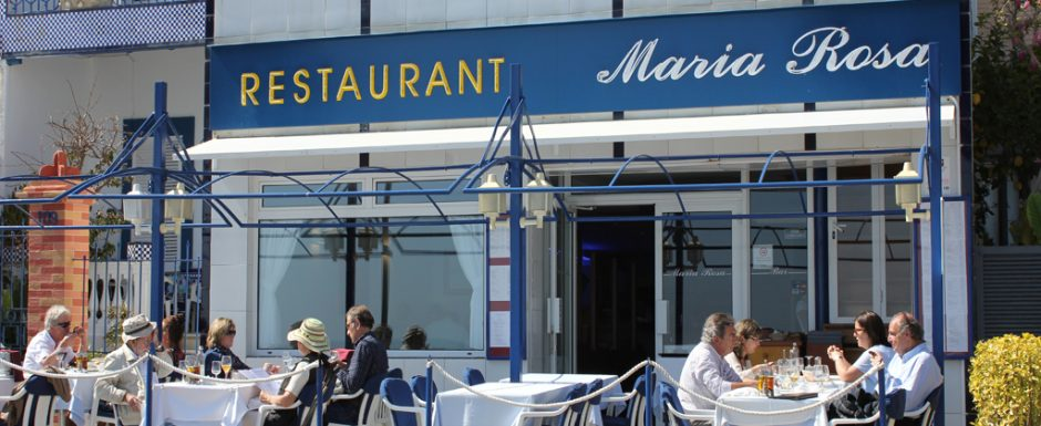 things to do on the costa brava - maria rosa restaurant